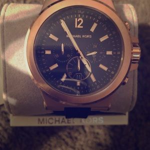 Michael Kors watch rose gold NIB
